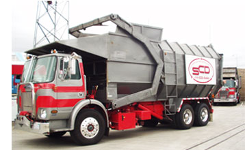 Southern California Disposal trash truck