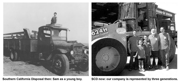 Southern California Disposal and Recycling three generations